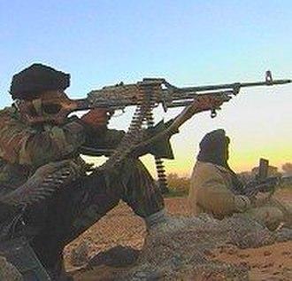 Niger Armed Forces - Member of the rebel MNJ, northern Niger, 2008