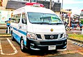 Niigata prefecture police medium size transport vehicle.jpg