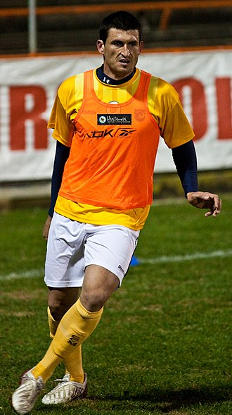 Nik Mrdja - Mrdja with Central Coast Mariners in 2009