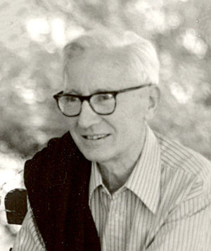 Sociobiology - Nikolaas Tinbergen, whose work influenced sociobiology.