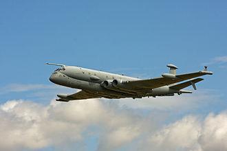 BAE Systems Nimrod MRA4 - Nimrod MRA4 during a test flight
