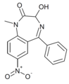 Nitemazepam structure.png