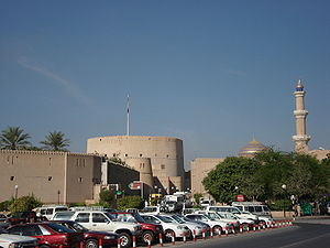 Nizwa - Nizwa's enormous fort