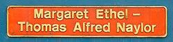 No.10119 (D4067) Alfred Thomas & Margaret Ethel Naylor (Class 10) (6779195985).jpg