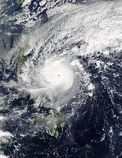 Typhoon Nock-ten Pacific typhoon in 2016