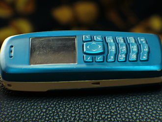 Nokia 3100 - Side view