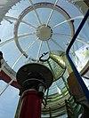 noordwijk - vuurtoren - lamp en kap