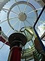 Noordwijk - Vuurtoren - Lamp en kap.JPG