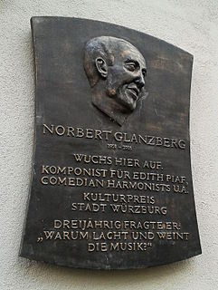 Norbert Glanzberg French composer