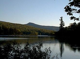 "Catskill Escarpment - North-South Lake, the ""shady vale"" explored by Bartram"