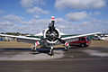 North American T-28B Trojan Marines NJ300H HeadOn TICO 13March2010 (14413082647).jpg