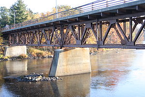 North Creek Bridge - North view from the western shore