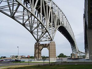 Blue Water Bridge - North Span (1938)