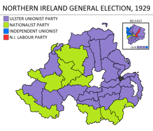 Northern Ireland general election, 1929 - Image: Northern Ireland general election 1929
