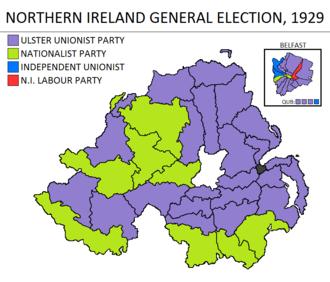 Northern Ireland general election, 1929 - Image: Northern Ireland general election 1929