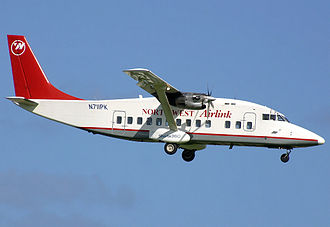 Northwest Airlink - Short 360 operated by Pacific Island Aviation at Guam