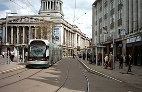 Image illustrative de l'article Tramway de Nottingham