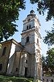 Nové Město pod Smrkem, kostel svaté Kateřiny, věž.jpg