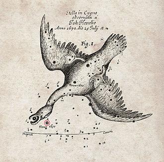 CK Vulpeculae - Image: Nova of 1670 by Hevelius
