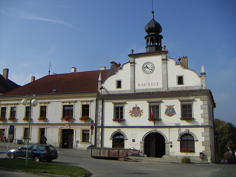 radnice v Nových Hradech