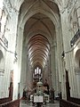 Noyon (60), cathédrale Notre-Dame, chœur, vue vers l'ouest 3.jpg