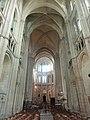 Noyon (60), cathédrale Notre-Dame, croisillon sud, vue vers le nord 1.jpg