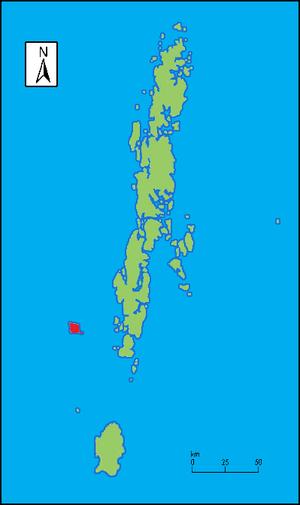 North Sentinel Island - Image: Nth Sentinel locale