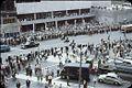 O'Keefe Centre and royal motorcade 1959 Toronto Canada.jpg