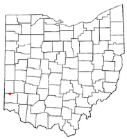 Location of Somerville, Ohio