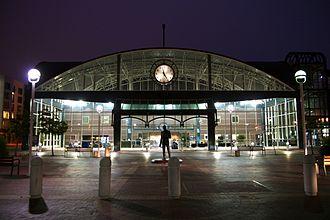 Oakland – Jack London Square station - Image: Oakland Train Station