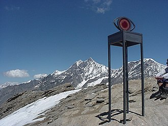 Oberrothorn - View of the summit, looking north