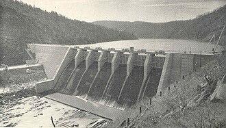 Ocoee Dam No. 3 - Ocoee Dam No. 3, circa 1945