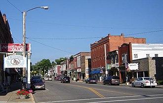 Loudonville, Ohio - Downtown Loudonville