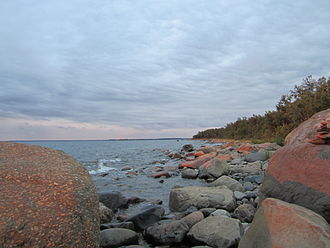 Bothnian Bay - The rocky shoreline of Ohtakari, in the southeast of the bay