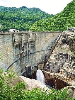 Okumiomote Dam right view