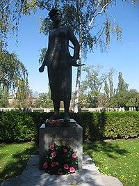 Olšanské hřbitovy, Jožka Jabůrková.jpg