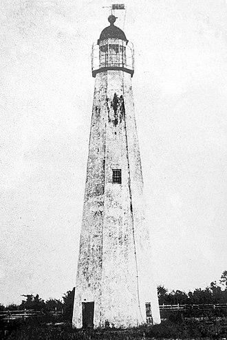 St. Simons Island Light - Image: Old St Simons Lighthouse