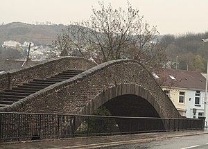 William Edwards (architect) - Image: Old Bridge, Pontypridd