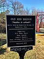 Old Red Bridge Historical Marker, Hot Springs, NC (31730059547).jpg
