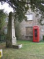 Old Village Pump and Red Phone Box - geograph.org.uk - 410976.jpg