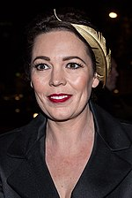 Olivia Colman at Moet BIFA 2014 (cropped).jpg