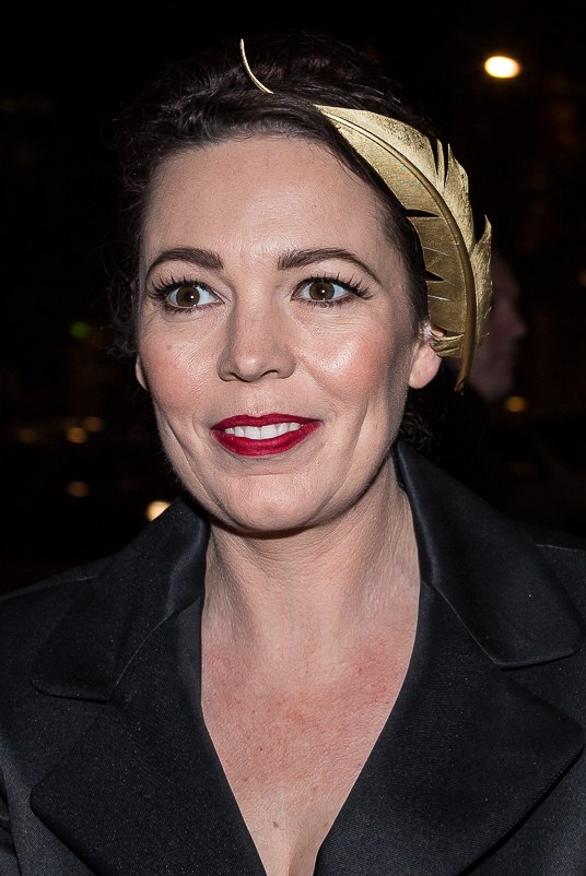 Olivia Colman at Moet BIFA 2014 (cropped)