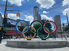 Olympic Rings at Centennial Olympic Park