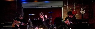 One Ok Rock - One OK Rock performing at Lucky Strike Live, October 22, 2015