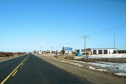 Highway 11 through Opasatika.