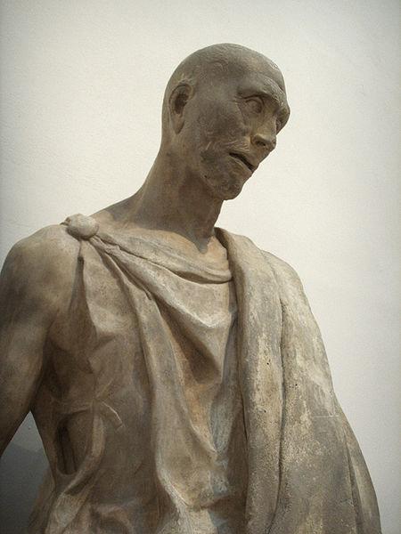 Ficheiro:Opera del duomo (FI), donatello, abacuc (zuccone), 1423-1435 dettaglio 02.JPG