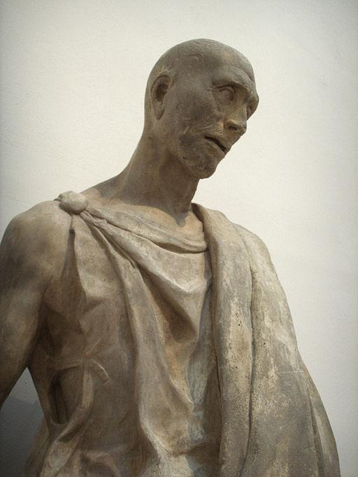Opera del duomo (FI), donatello, abacuc (zuccone), 1423-1435 dettaglio 02