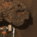 Opportunity's close-up of a meteorite Oileán Ruaidh.png