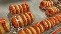 Orange doughnuts for King's Day, Albert Heijn Winschoten (2018).jpg