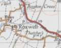 Ordnance Survey Map of Roxwell 20th Century.PNG